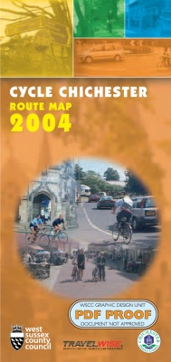 Cycle Chichester Route Map 2004 cover