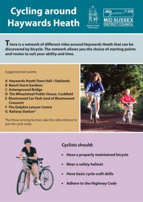 Cycling around Haywards Heath cover