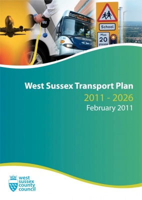 West Sussex Transport Plan 2011-2026 (LTP3) cover